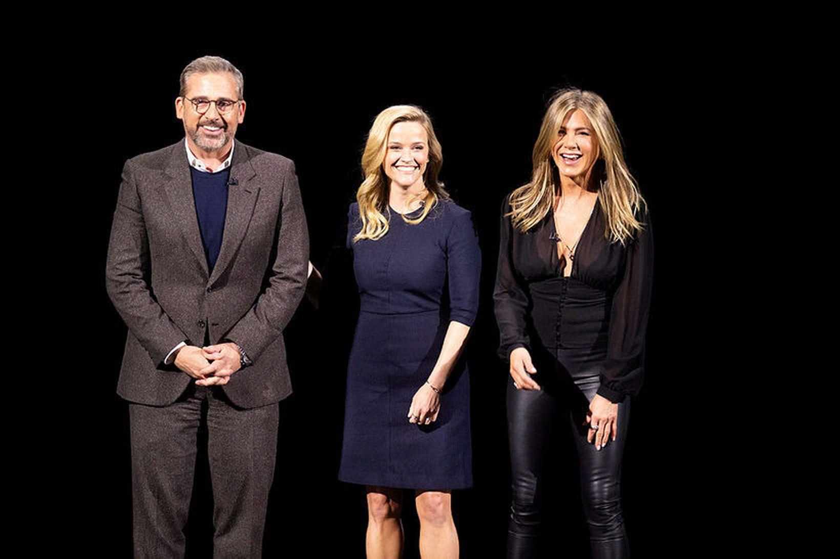 Steve Caroll, Reese Witherspoon og Jennifer Aniston munu leika í …