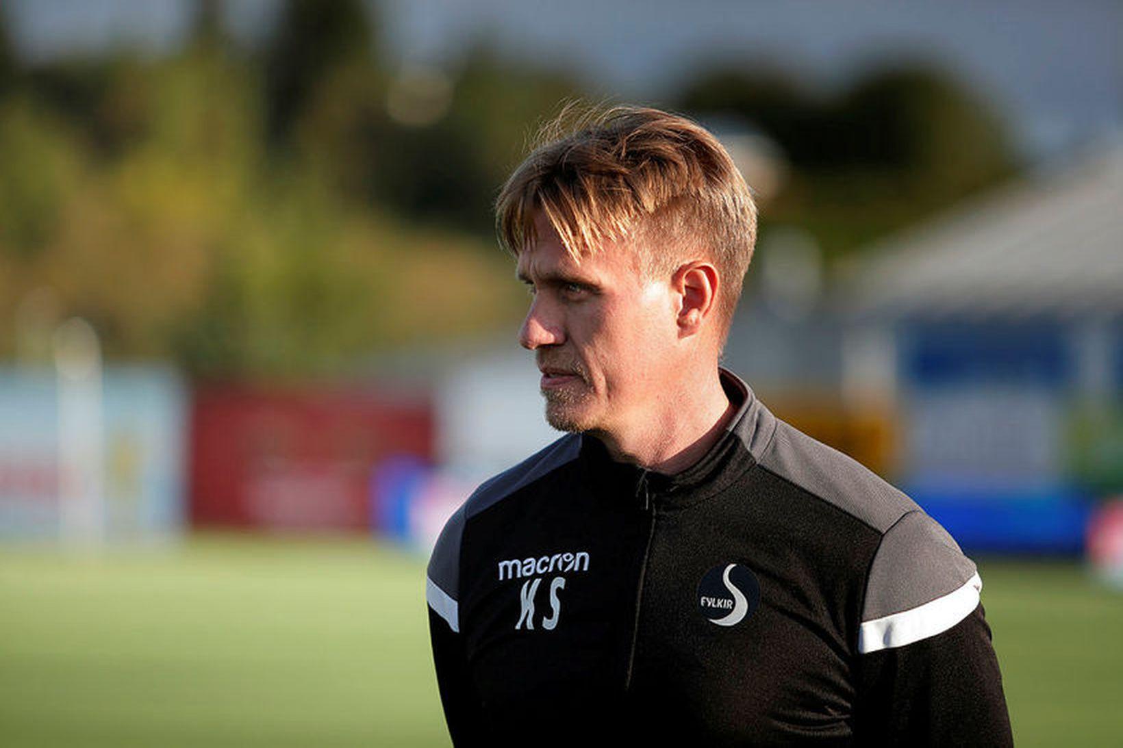 Kjartan Stefánsson, þjálfari Fylkis.