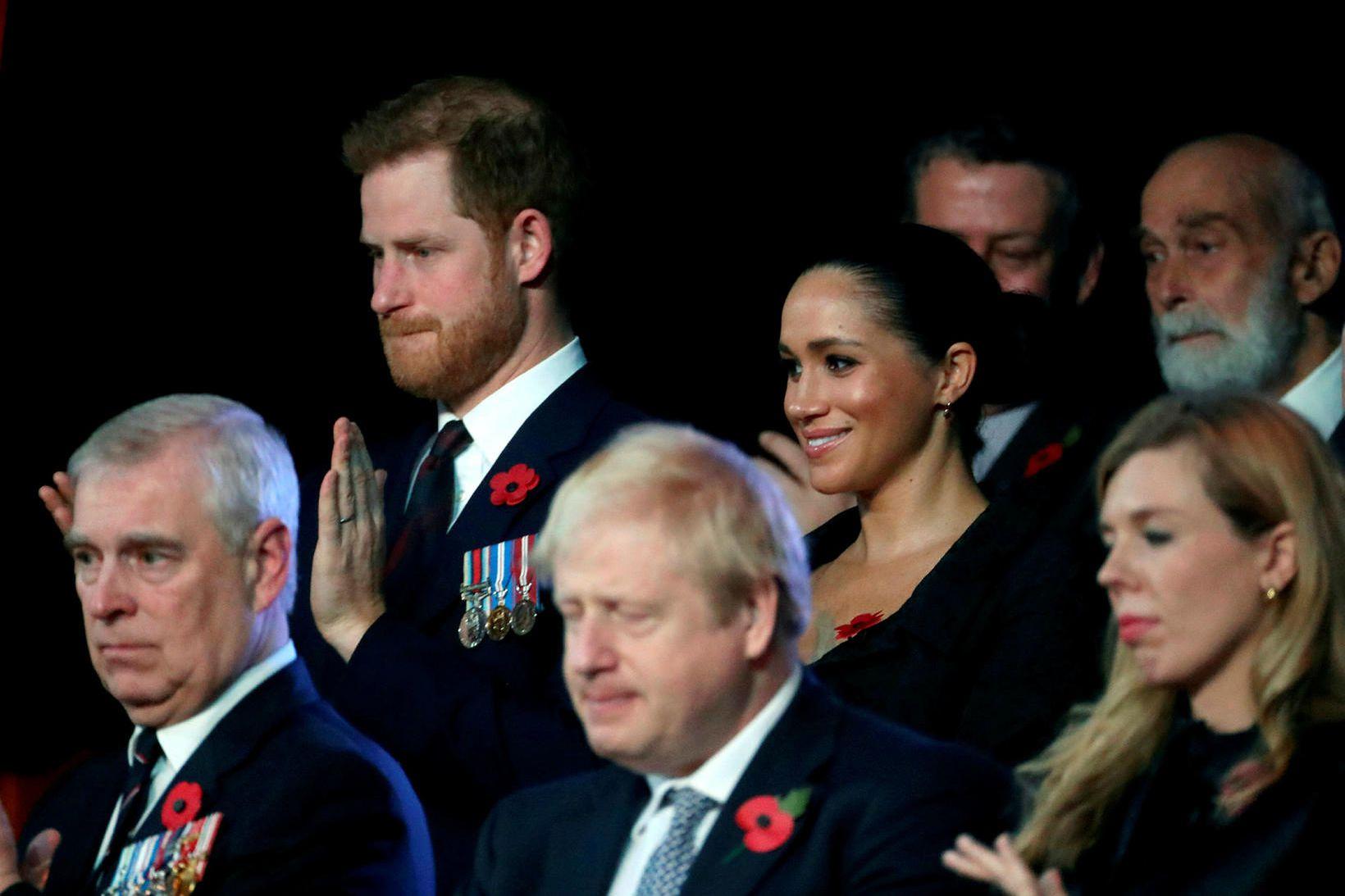 Boris Johnson vildi sem minnst tjá sig um mál Harry …