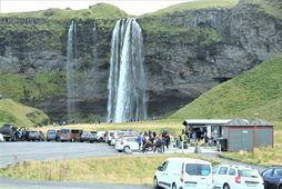 Seljalandsfoss waterfall is one of the country's most popular tourist attractions.
