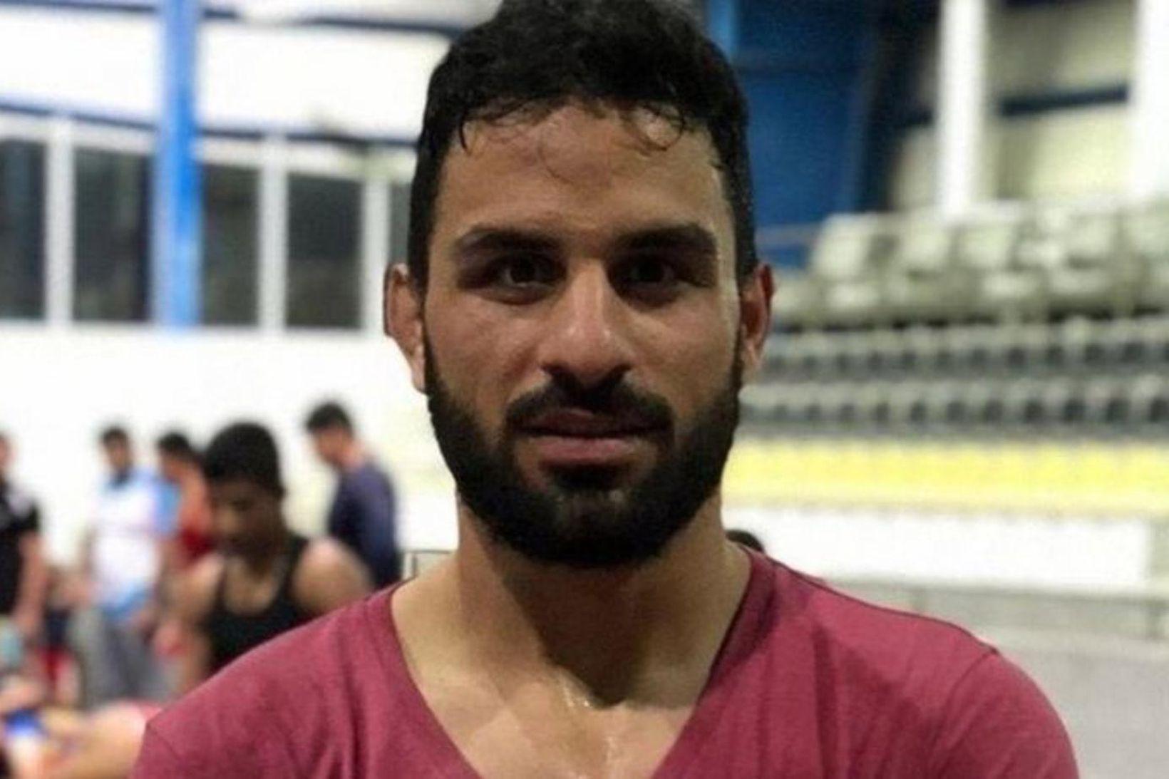 Navid Afkari var tekin af lífi í borginni Shiraz.