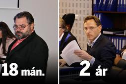Sigurjón Árnason, fyrrverandi bankastjóri Landsbankans og Ívar Guðjónsson fyrrum forstöðumaður eigin fjárfestinga bankans hlutu dóma …