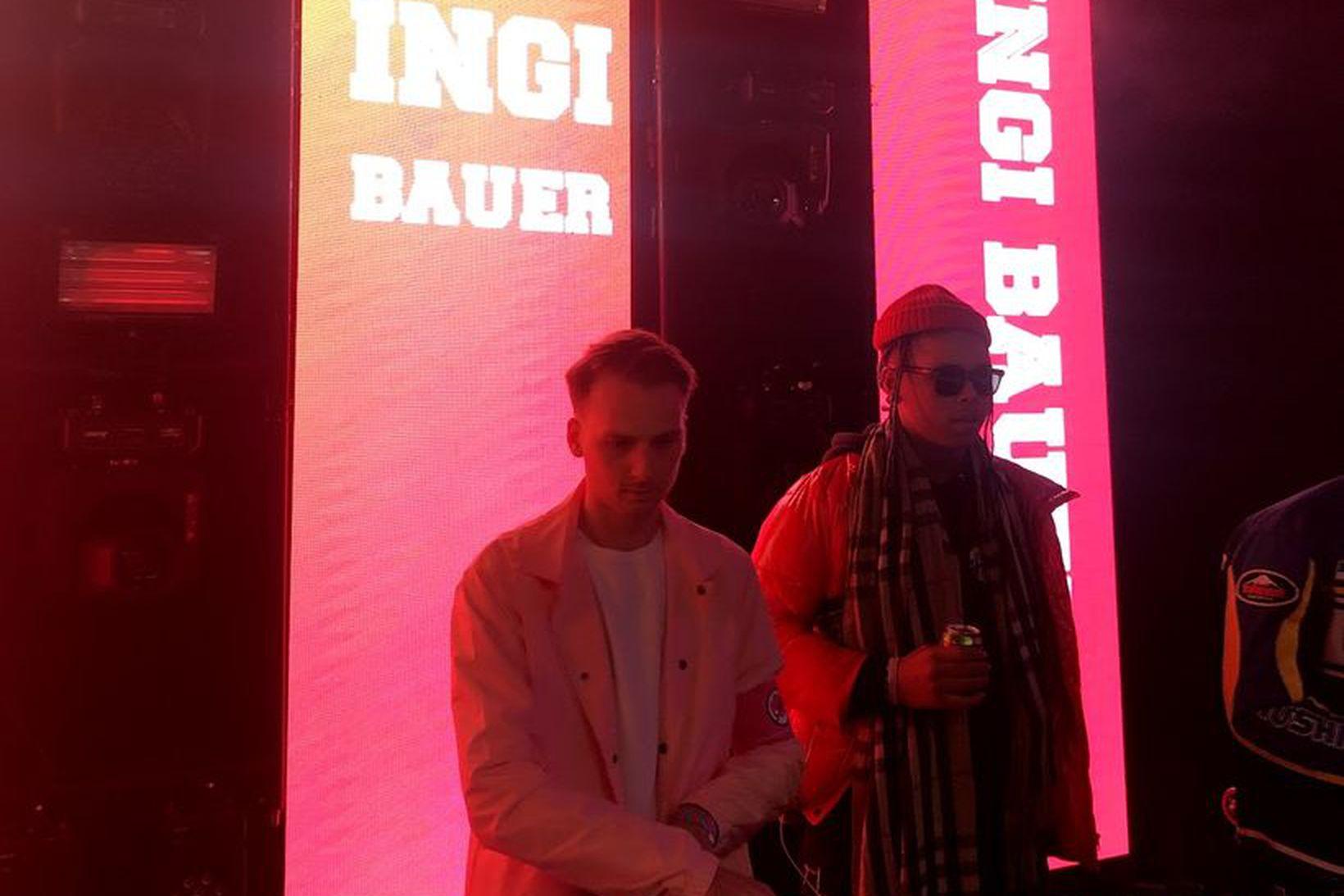 Ingi Bauer spilaði á Þjóðhátíð.