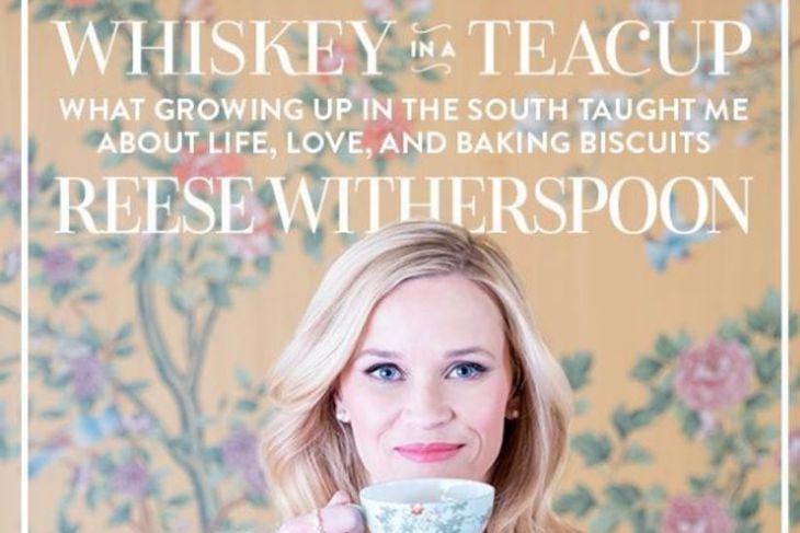 "Svona lítur bókakápan út á nýrri bók Reese Witherspoon ""Wiskey ..."