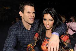 Kris Humphries og Kim Kardashian í febrúar 2011.