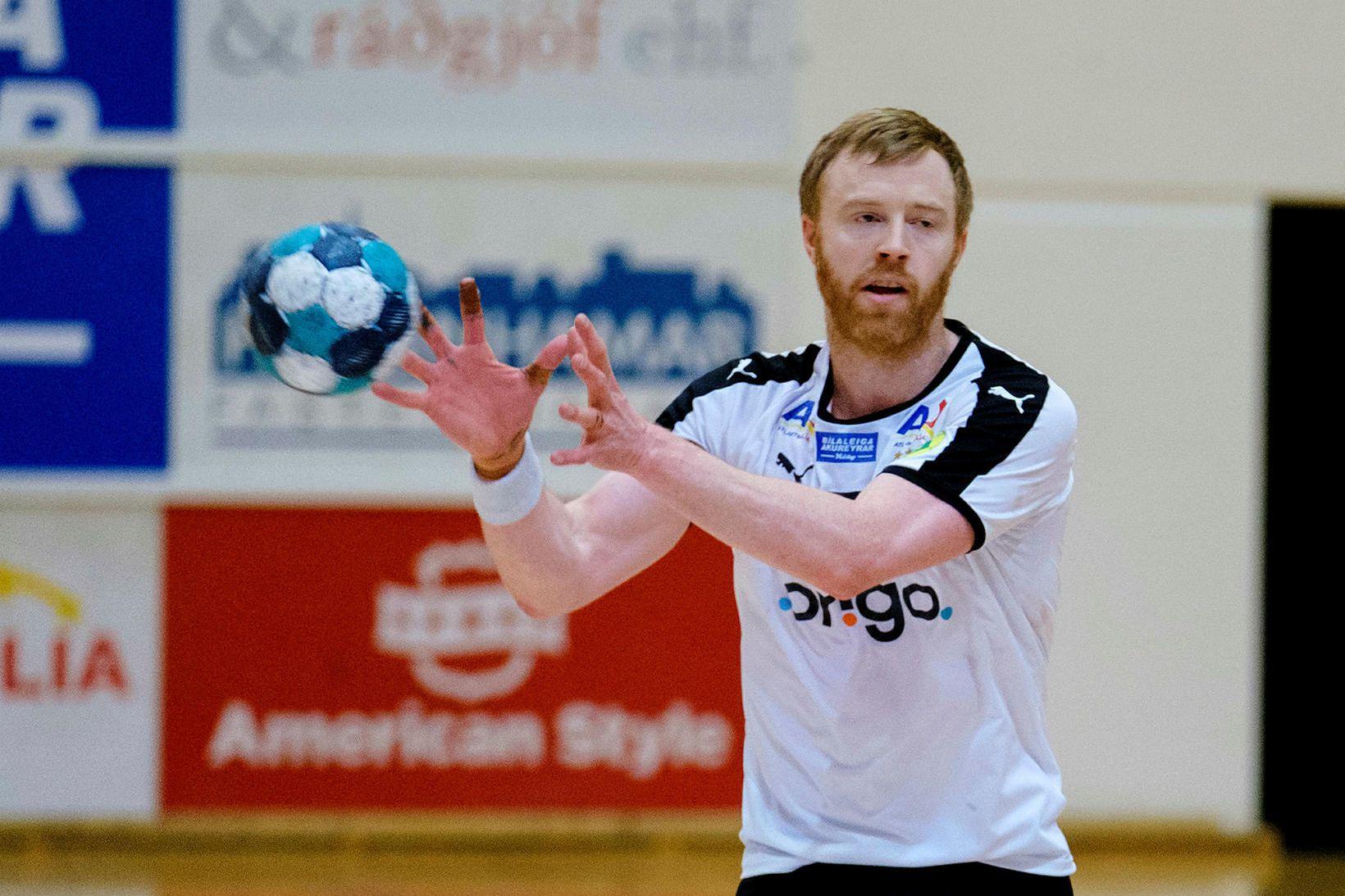 Ásbjörn Friðriksson, leikmaður FH.