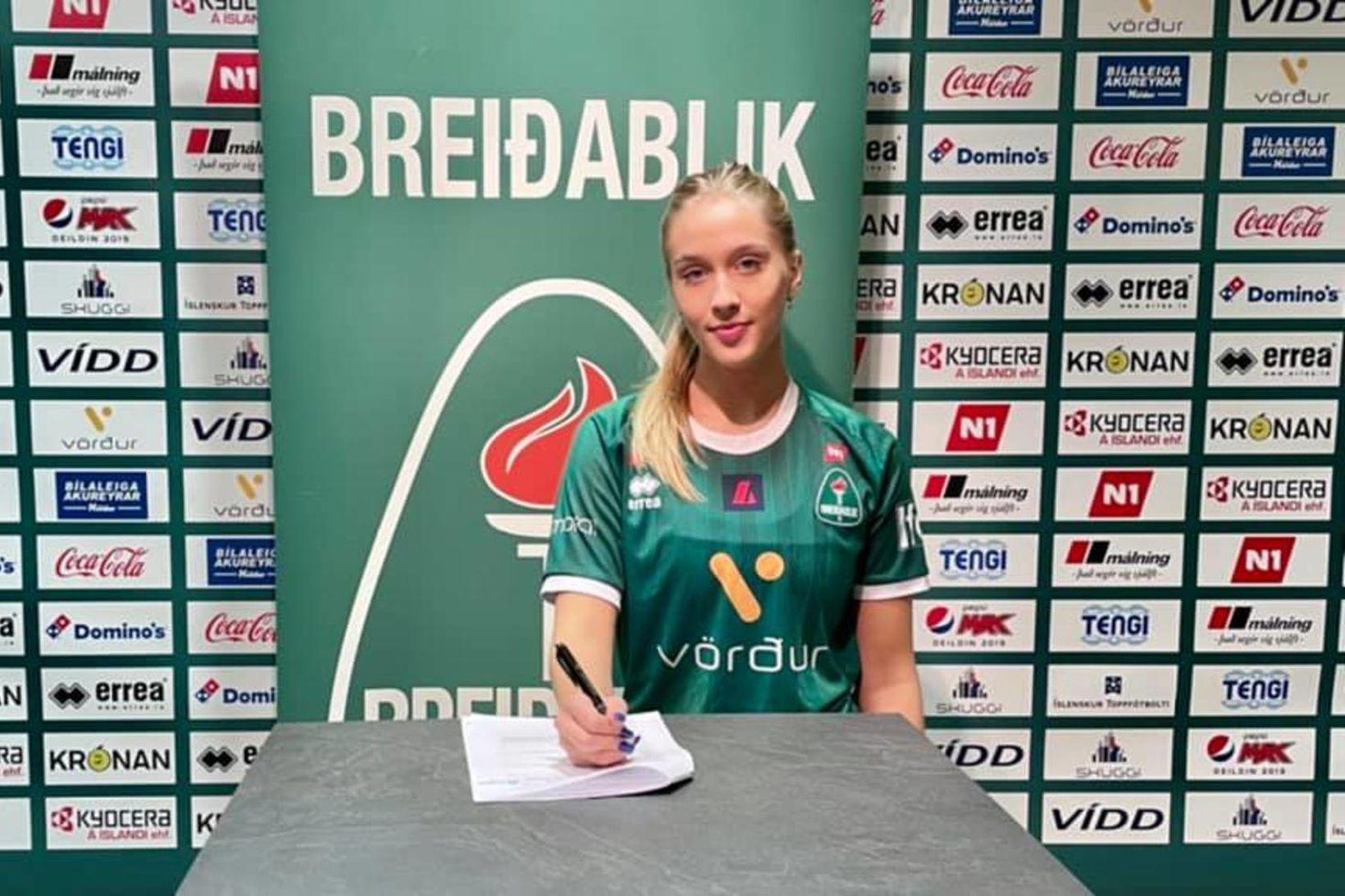 Birta Georgsdóttir hefur skrifað undir hjá Breiðabliki.