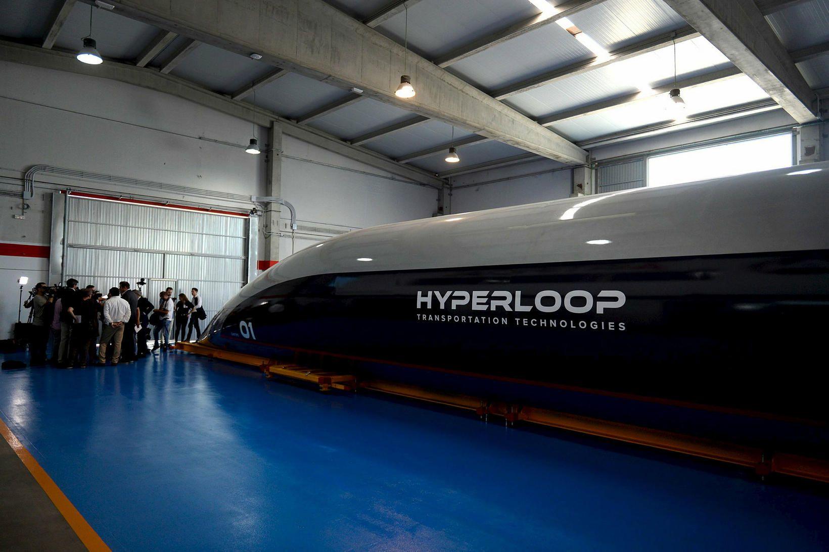 Virgin Hyperloop hefur verið mörg ár í þróun og er …