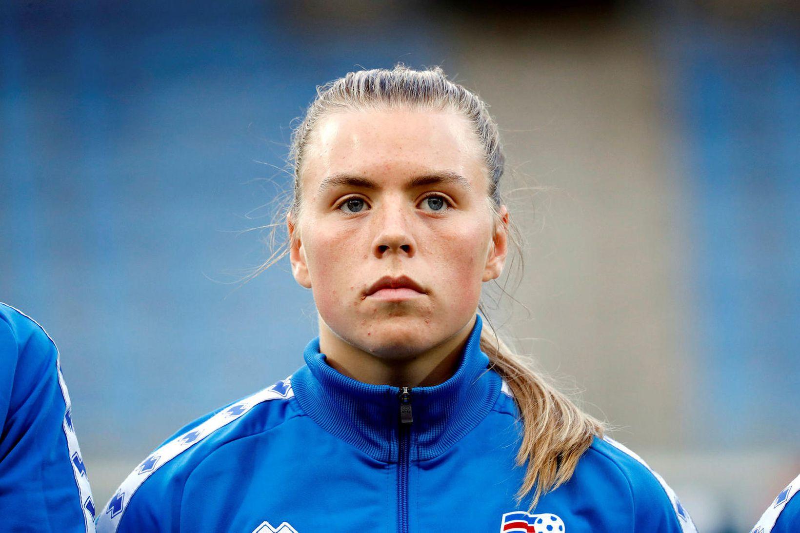 Ingibjörg Sigurðardóttir.