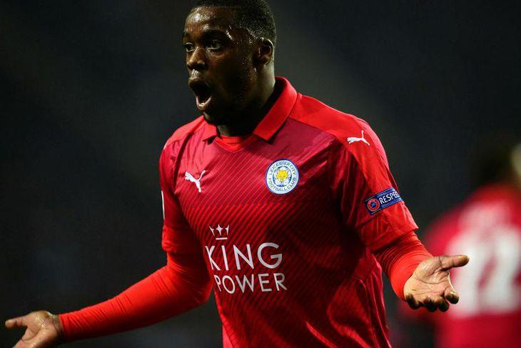 Jeffrey Schlupp miðjumaður frá Gana er kominn til Crystal Palace frá Leicester fyrir 12 milljónir ...