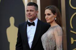 Brad Pitt og Angelina Jolie voru saman í rúman áratug en þau giftu sig fyrir …