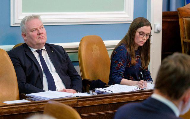 Sigurður Ingi Jóhansson, samgöngu- og sveitarstjórnarráðherra, mælti fyrir frumvarpinu í dag.