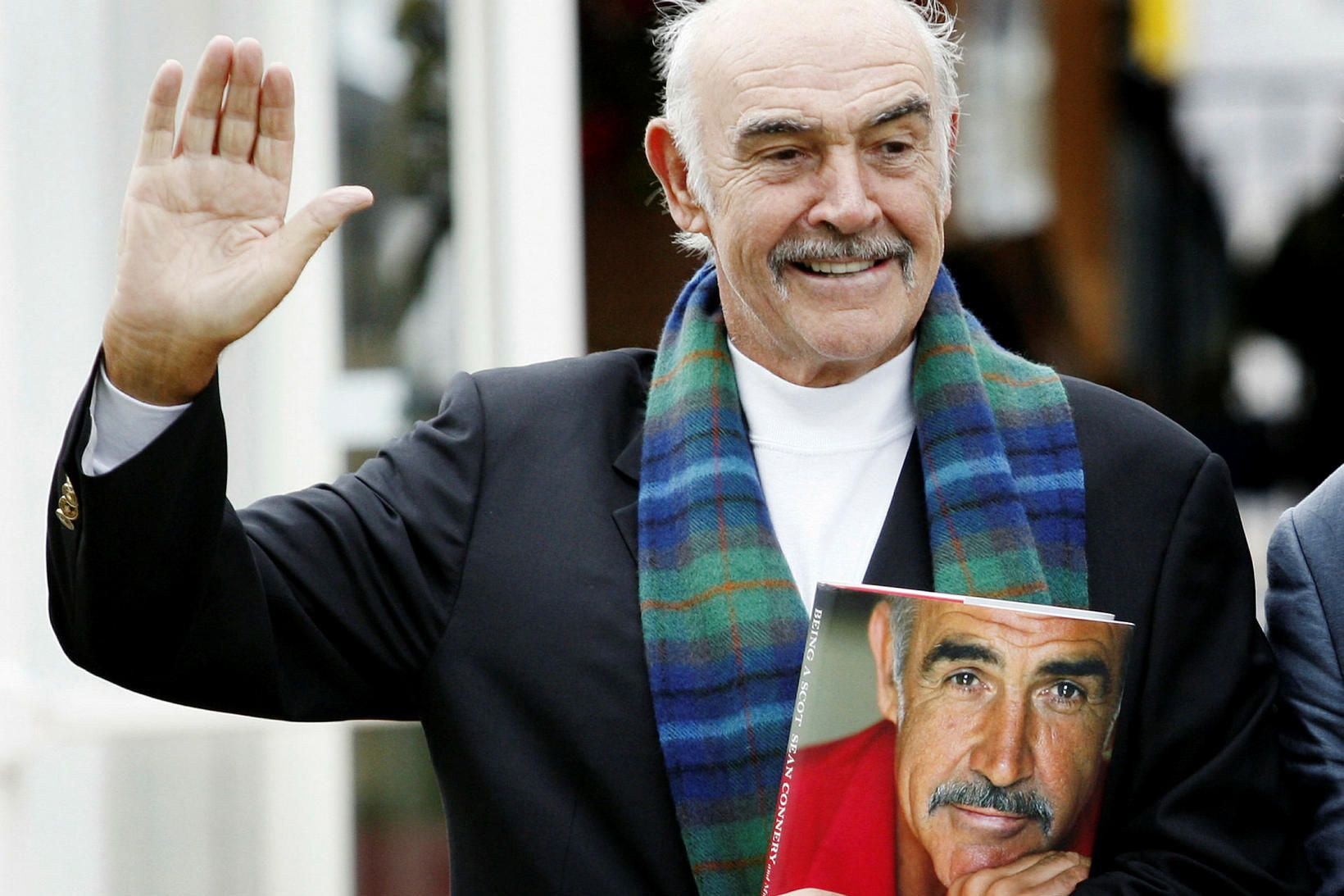 Sean Connery árið 2008.