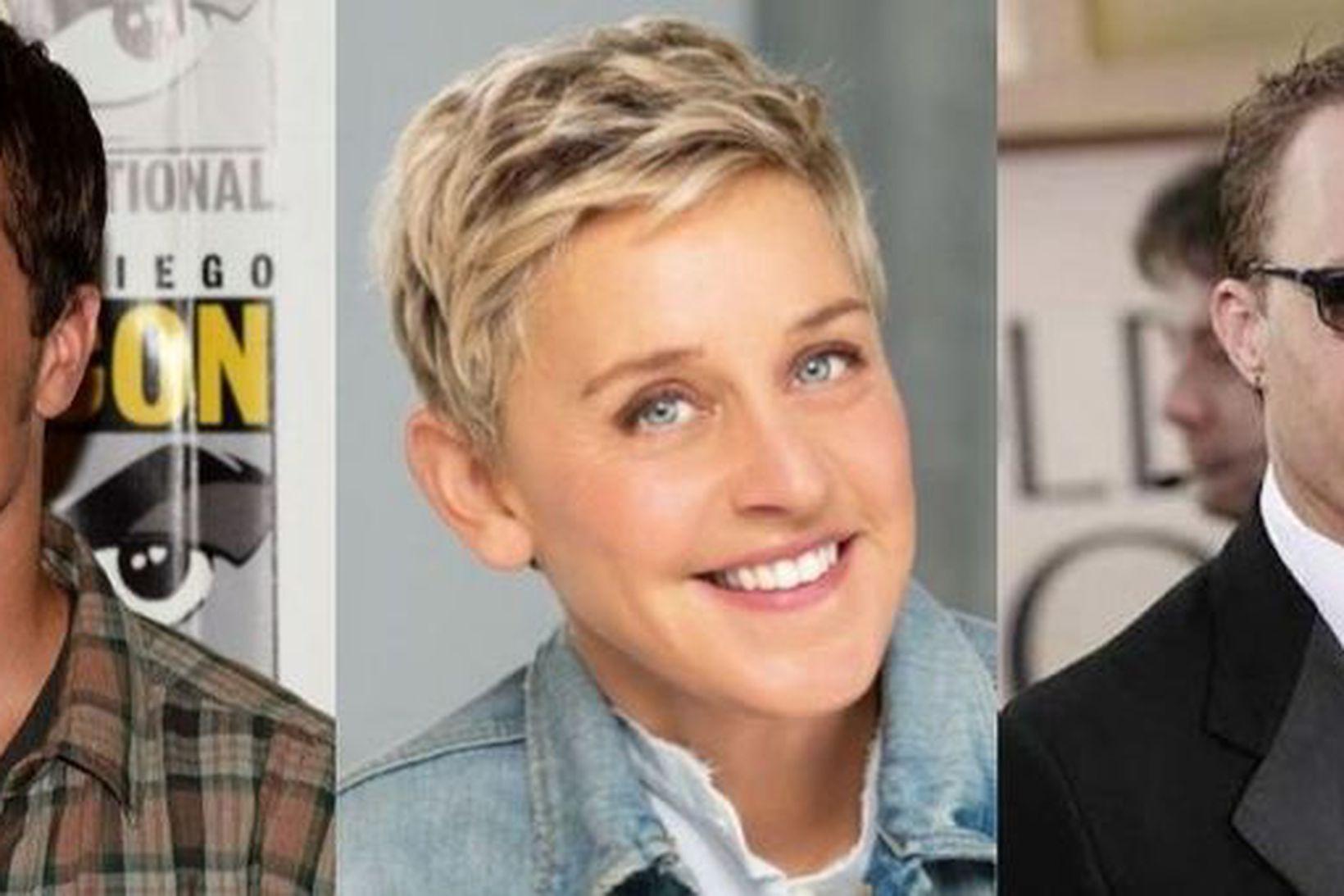 Josh Hutcherson, Ellen DeGeneres og Heath Ledger eiga öll það …