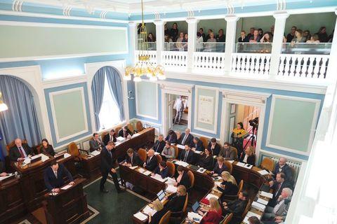 The bill being debated in Alþingi.