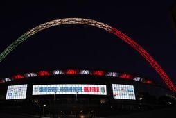 England og Ítalía áttu að mætast í vináttulandsleik á Wembley í gærdag.