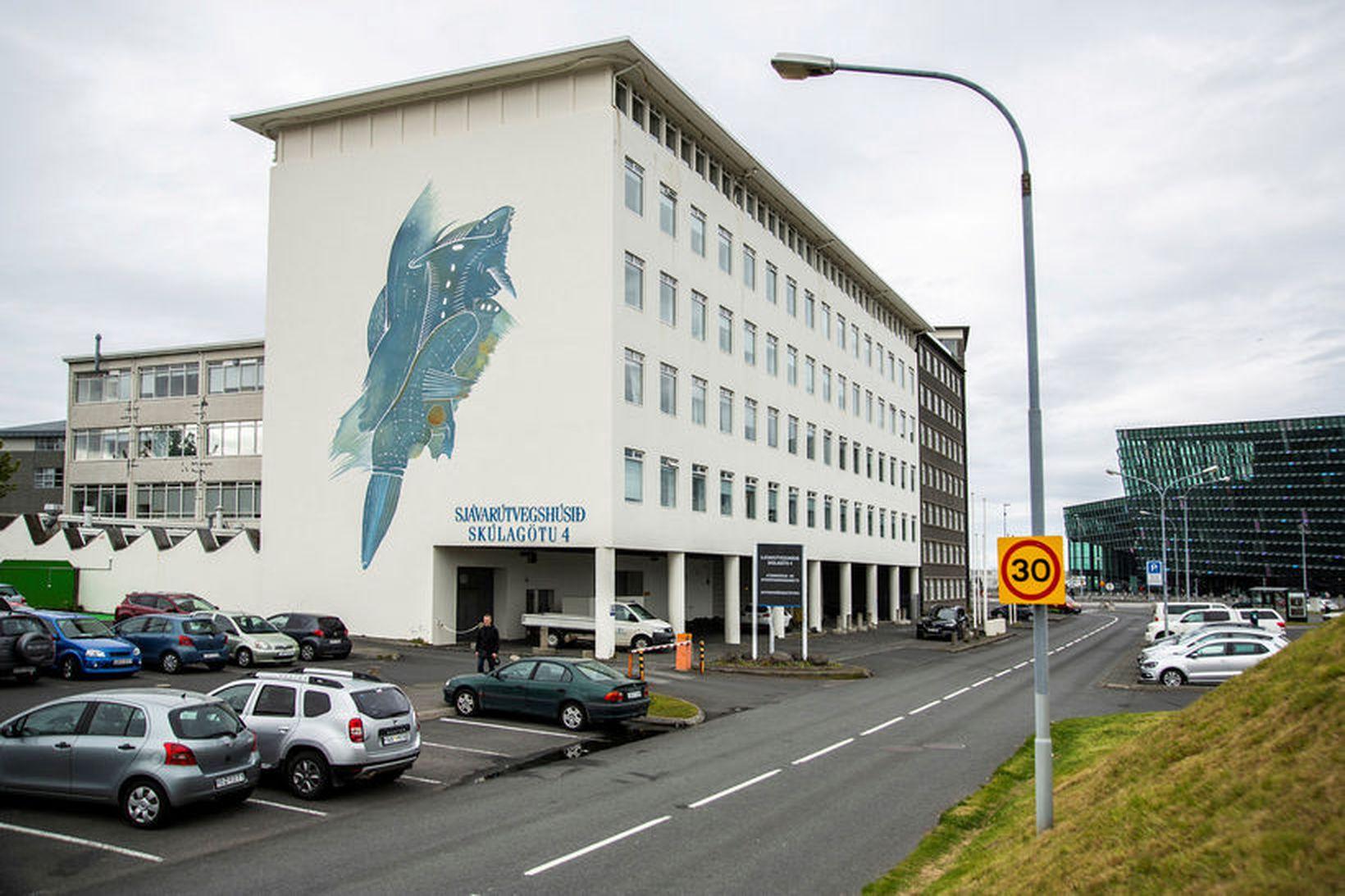 Húsakynni Hafrannsóknastofnunar, að Skúlagötu 4.