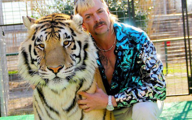 Joe Exotic var stjarna þáttanna Tiger King.