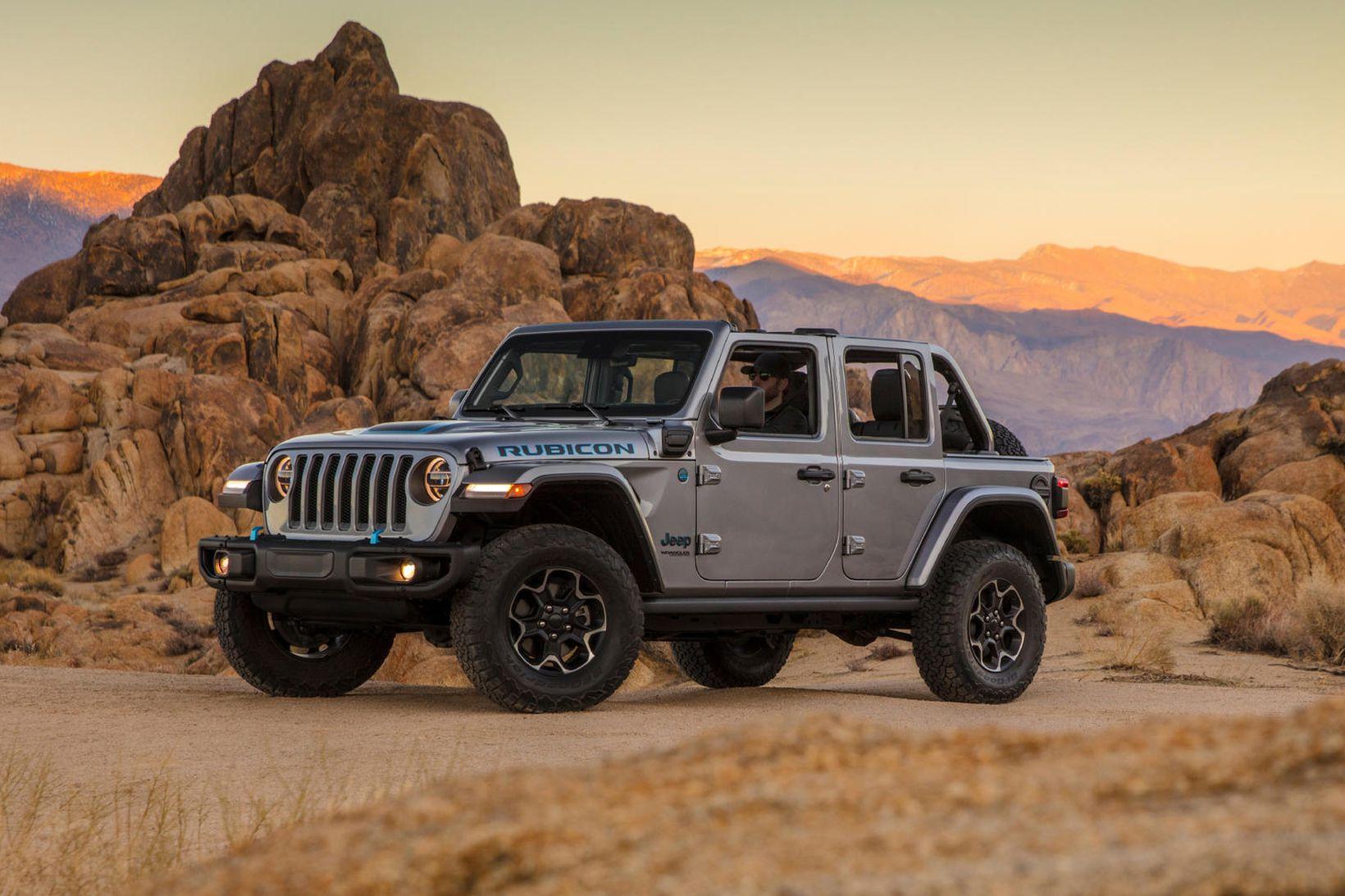 Jeep Wrangler Rubicon 4xe Plug-In-Hybrid.