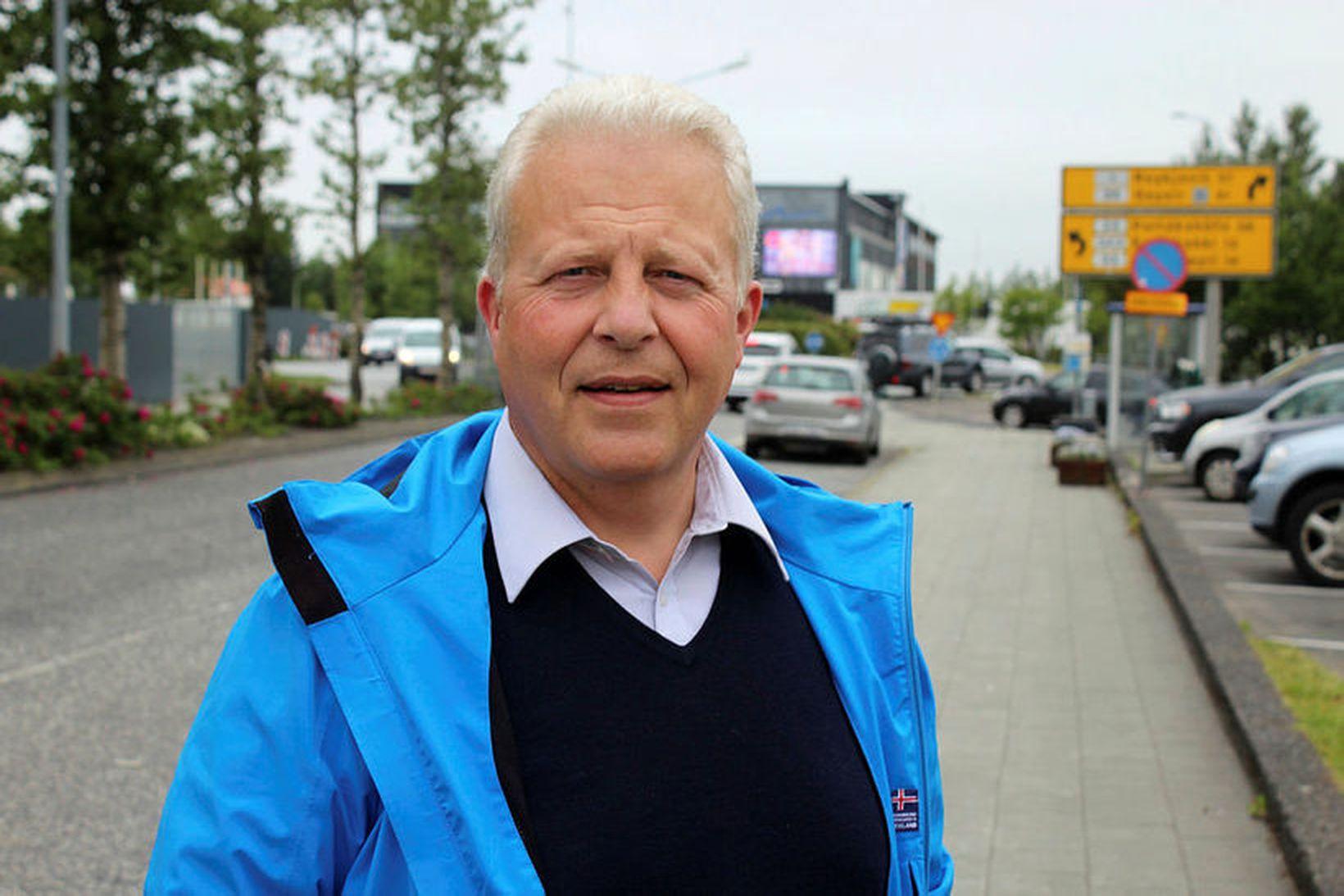 Gísli Halldór Halldórsson bæjarstjóri í Árborg.