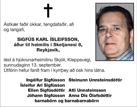 Sigfús Karl Ísleifsson,