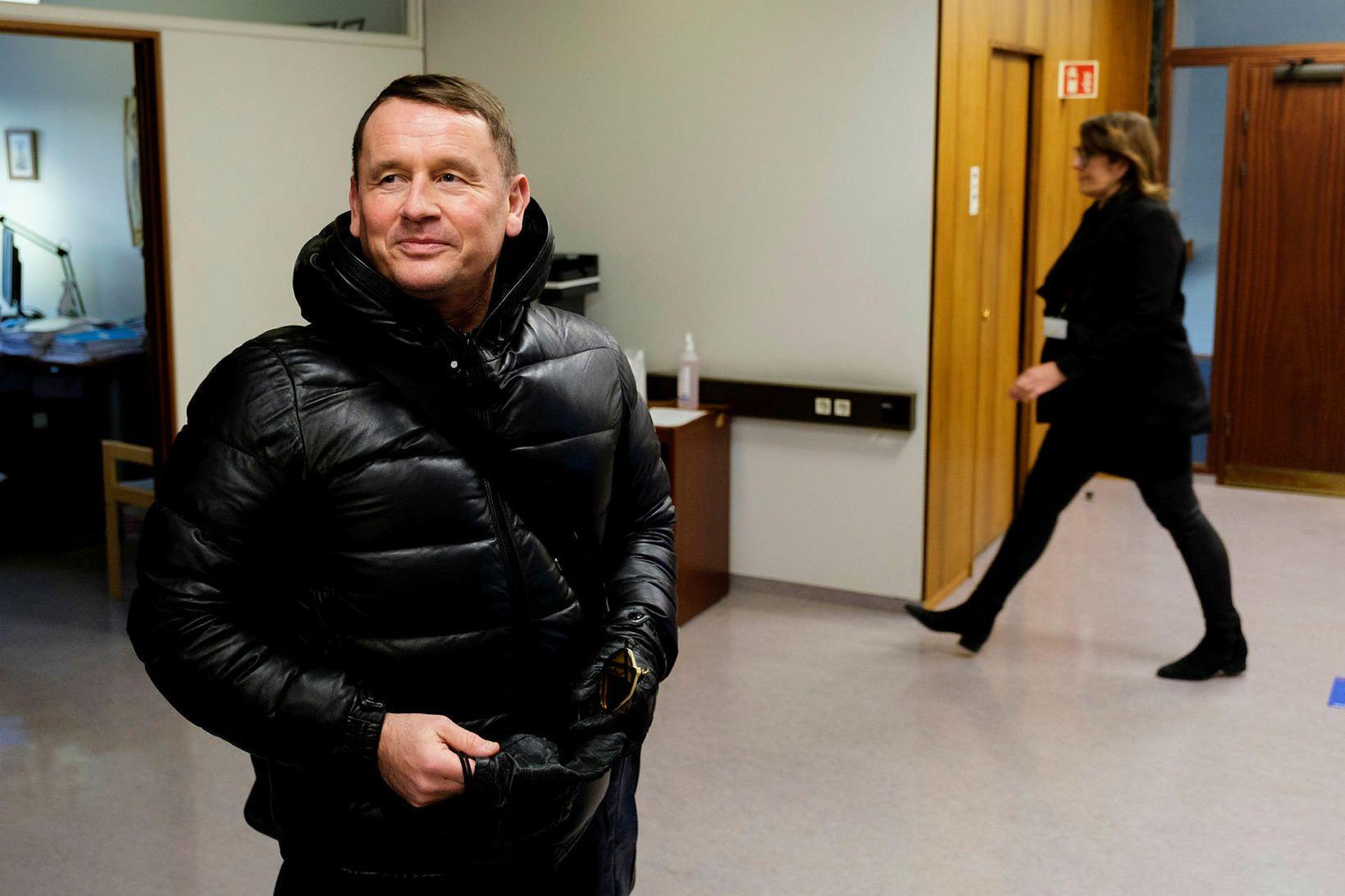 Vilhjálmur Hans Vilhjálmsson lögmaður.