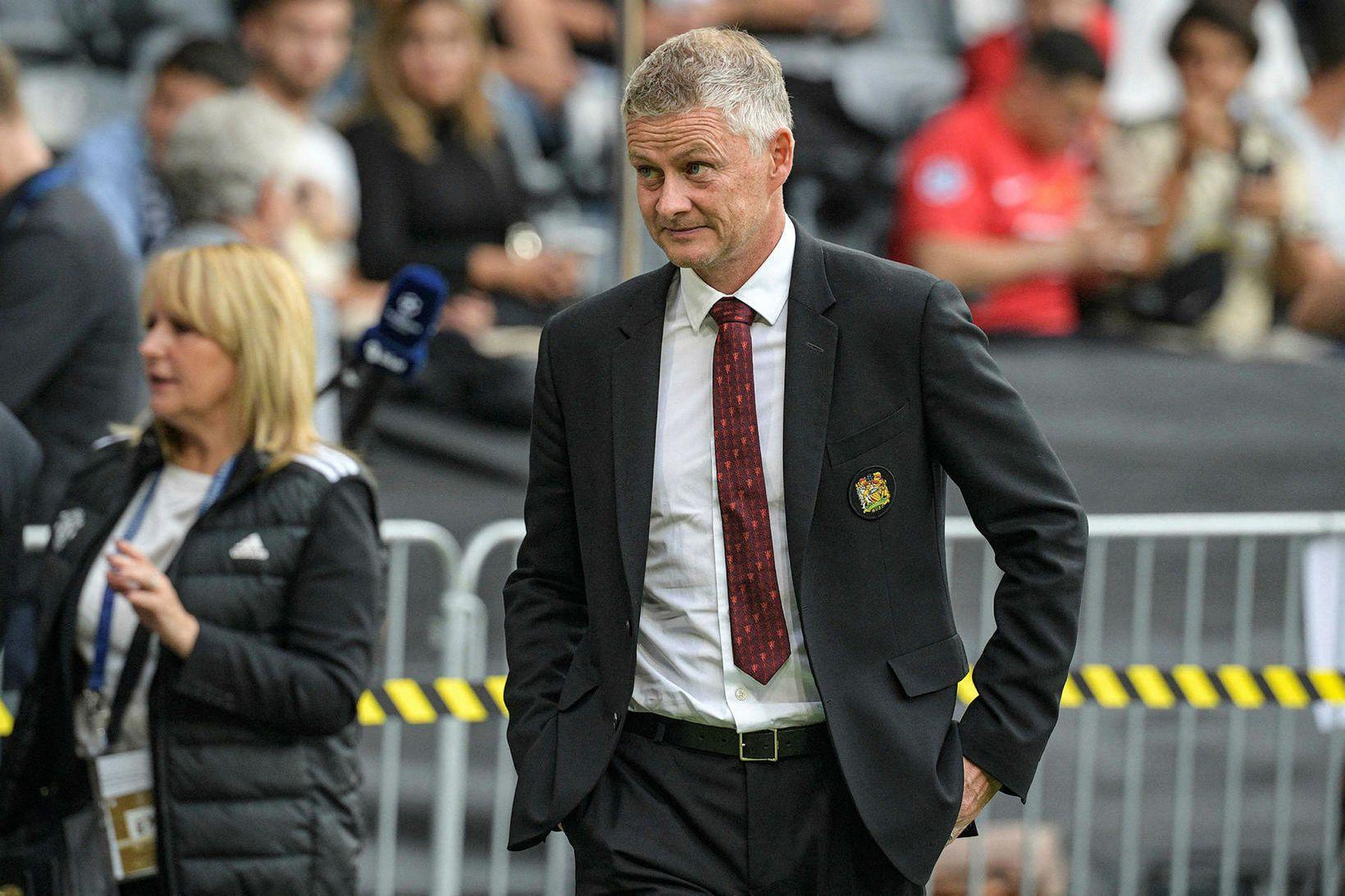 Ole Gunnar Solskjær, knattspyrnustjóri Manchester United.