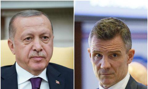Guðni hitti Erdogan
