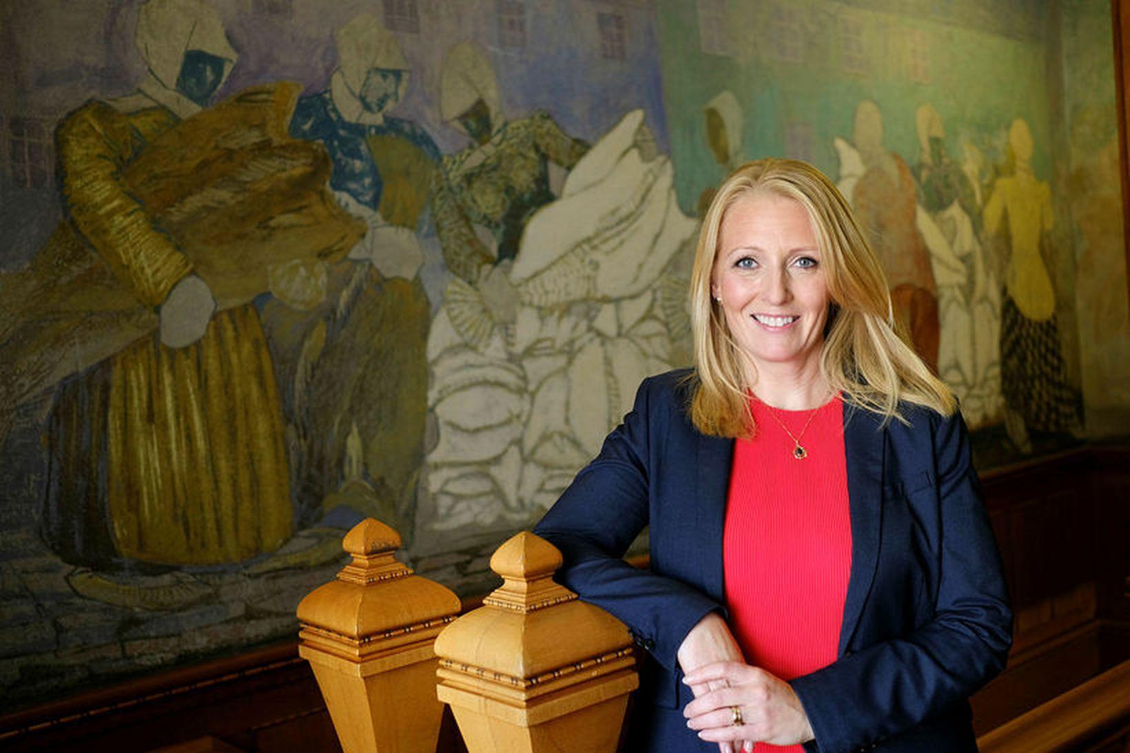 Lilja Björk Einarsdóttir, bankastóri Landsbankans.