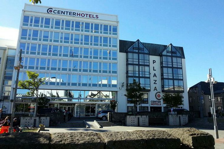 The Center Hotel Plaza in downtown Reykjavik.