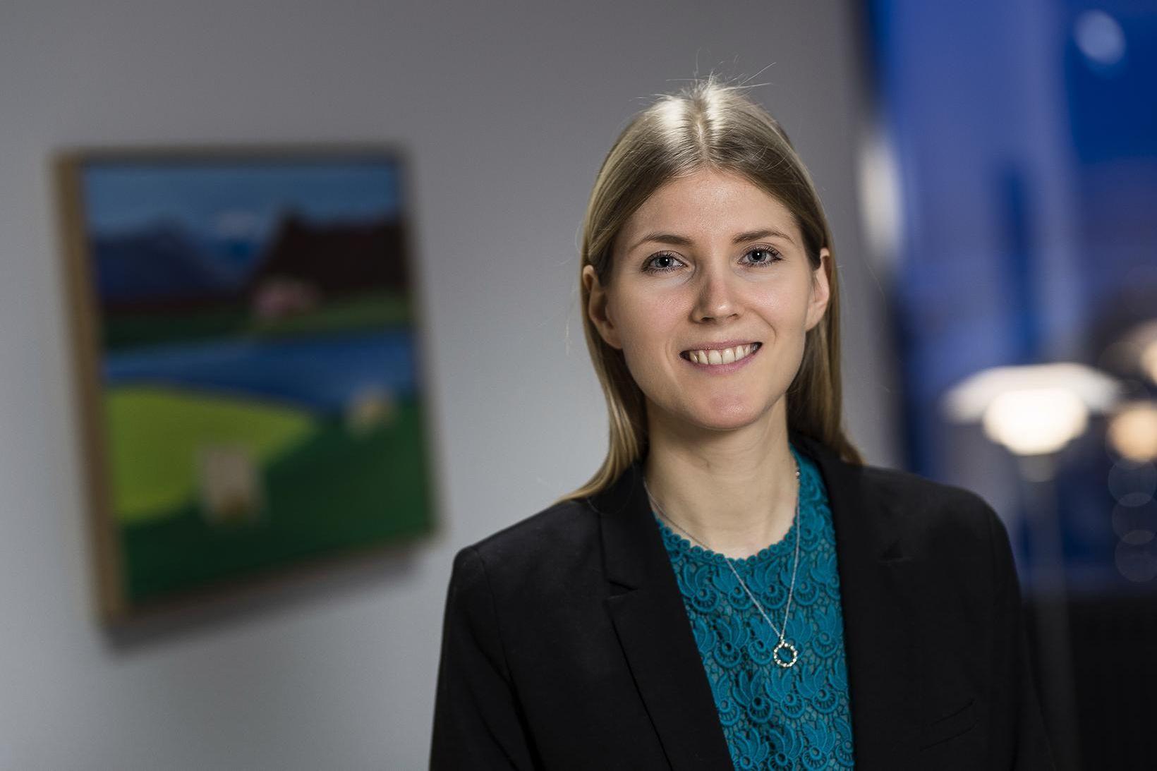 Margrét Lilja Hrafnkelsdóttir.