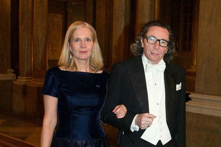 Katarina Frostenson og eiginmaður hennar, Jean-Claude Arnault.