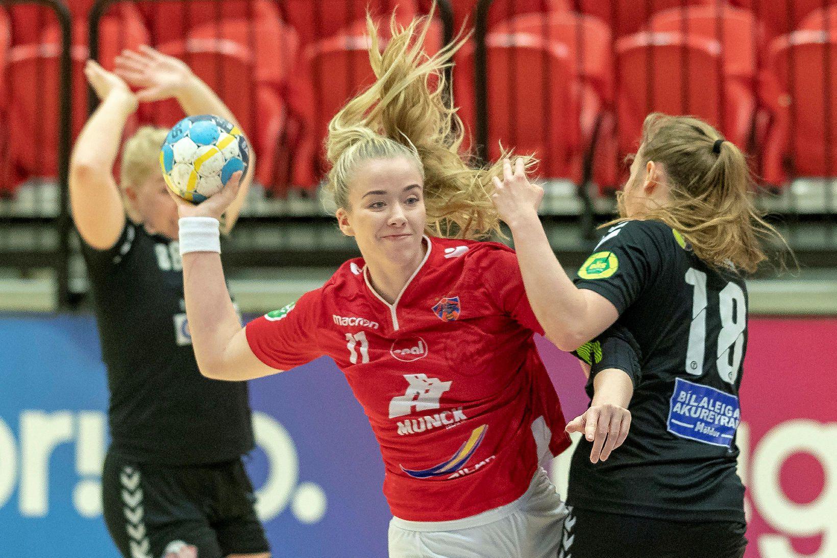 Morgan Marie Þorkelsdóttir.