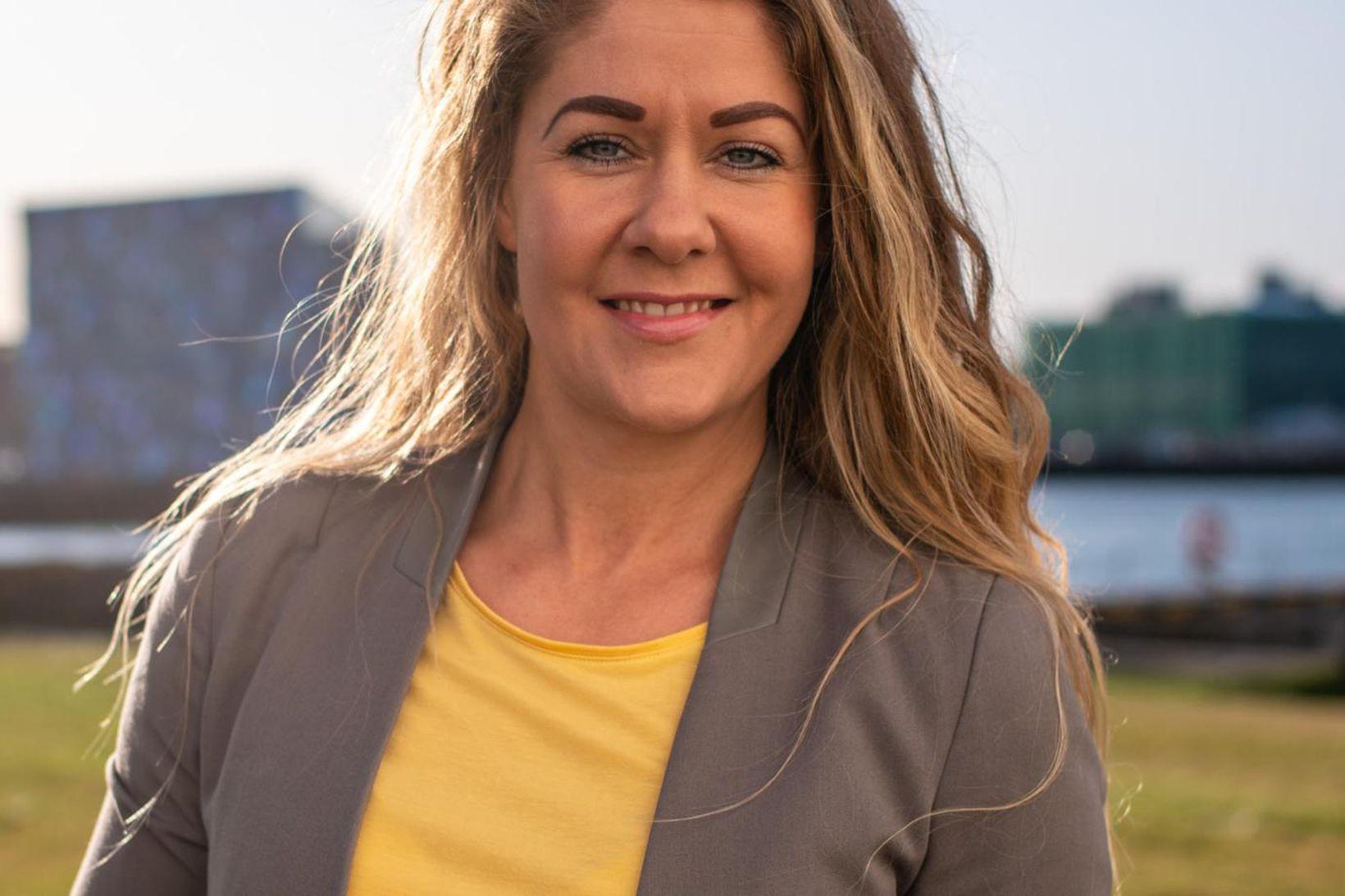 Kristín Hrefna Halldórsdóttir framkvæmdastjóri Flow.