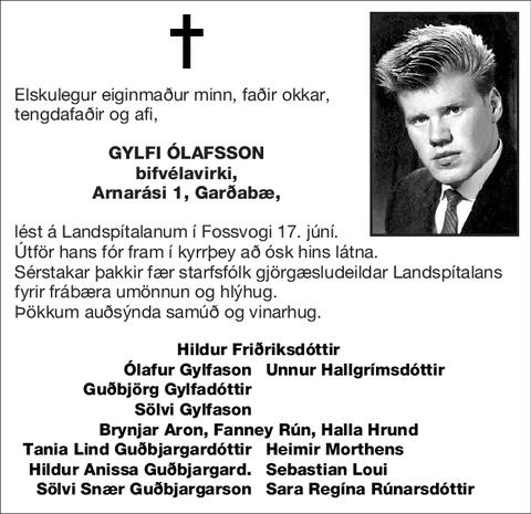 Gylfi Ólafsson