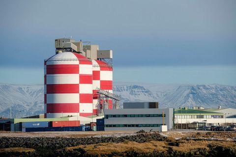 Álverið í Straumsvík.