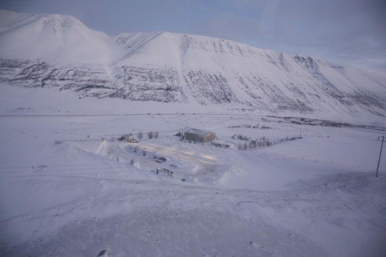 From Ljósavatnsskarð pass.