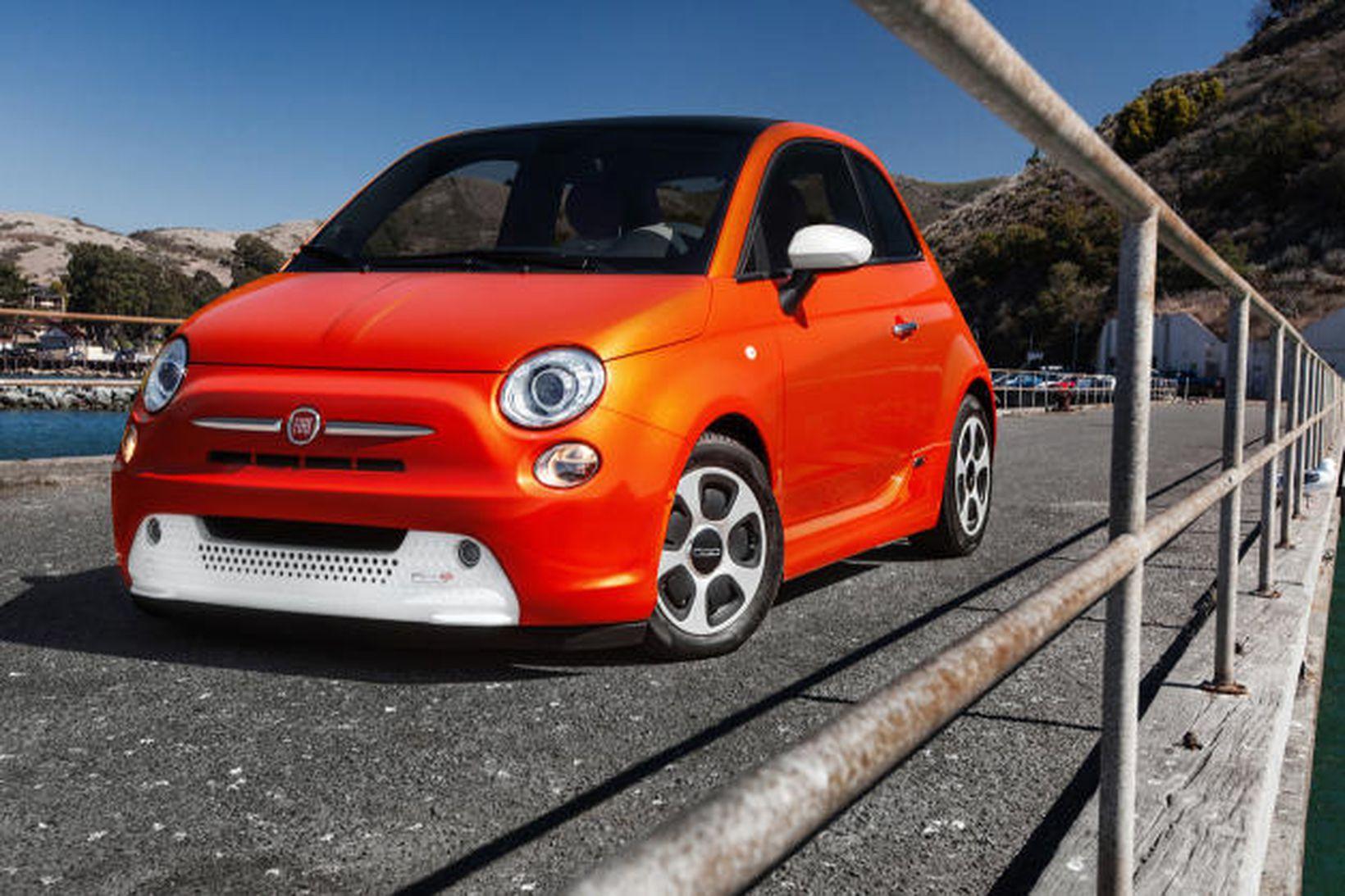 Fiat 500e er uppseldur út árið