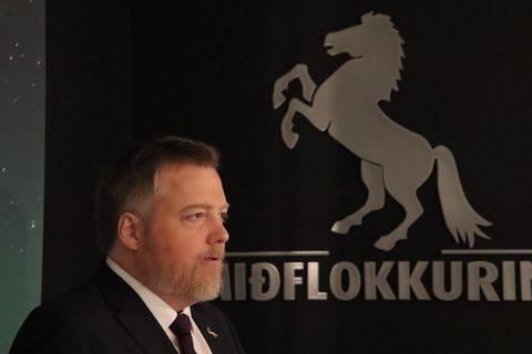 Sigmundur Davíð Gunnlaugsson, formaður Miðflokksins