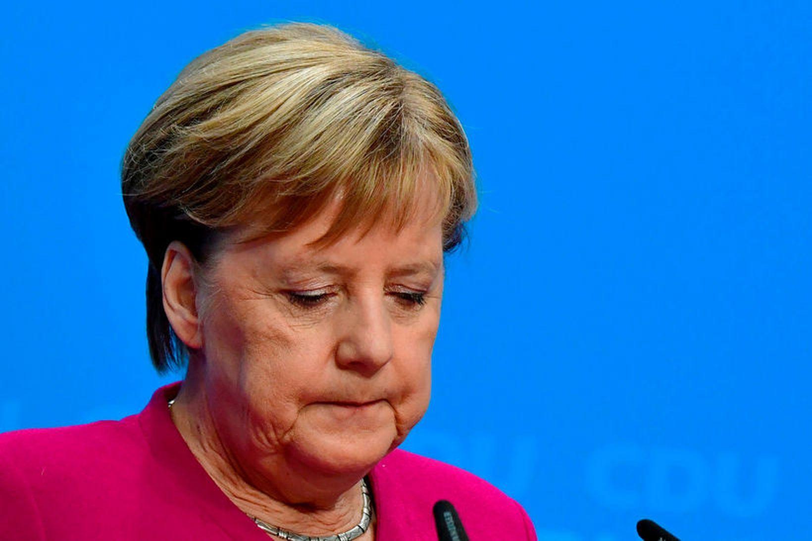 Angela Merkel, kanslari Þýskalands, hefur staðfest að hún muni ekki …