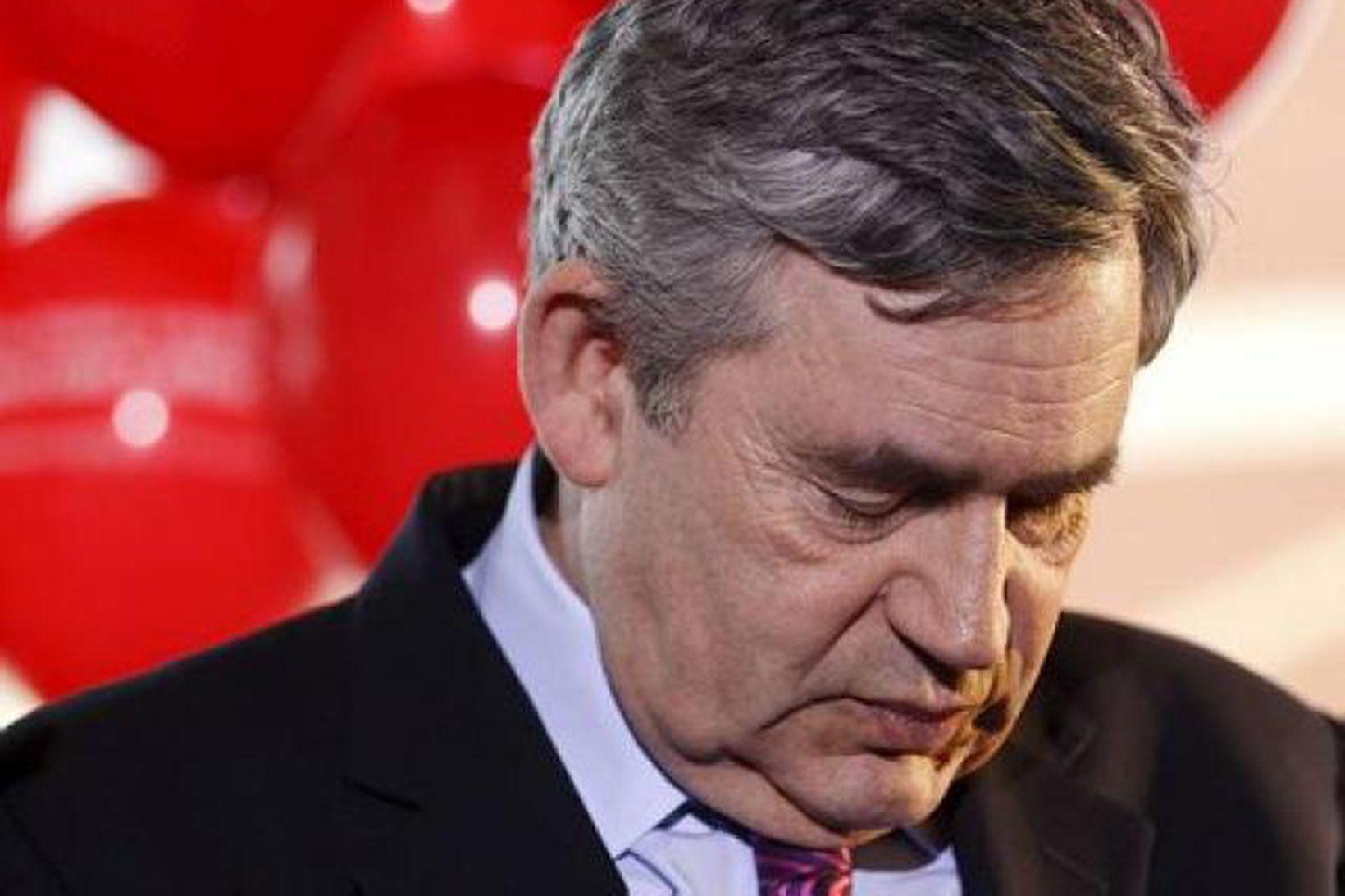 Gordon Brown, fyrrverandi forsætisráðherra Bretlands.