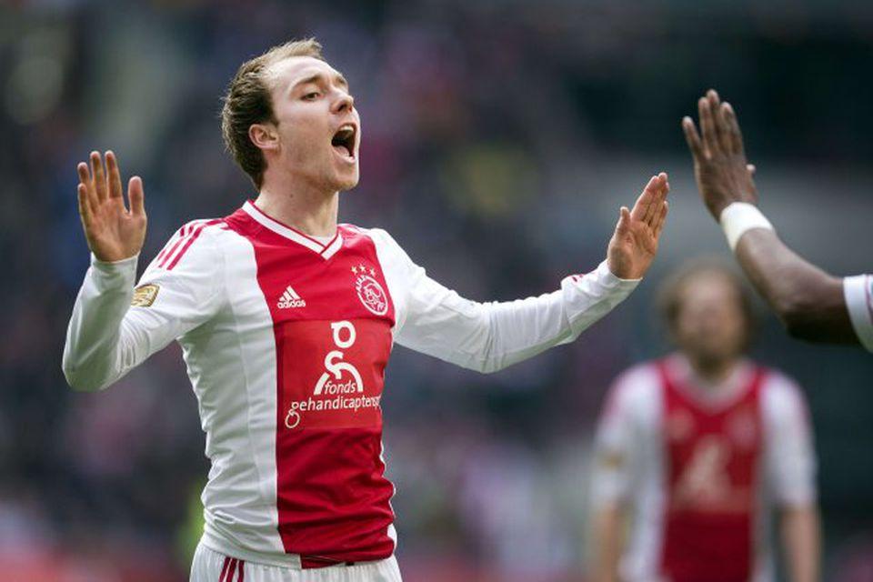 Daninn Christian Eriksen er kominn til Tottenham frá Ajax fyrir 11,5 milljónir punda.