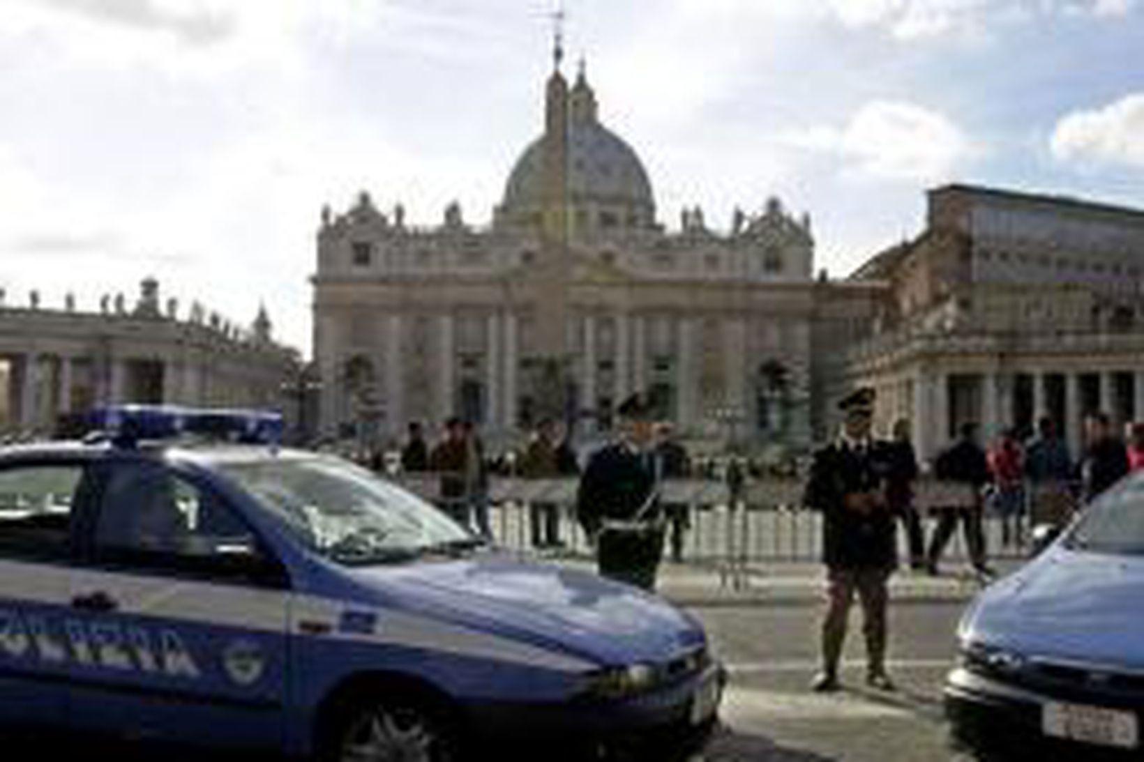 Péturstorgið í Vatikaninu.