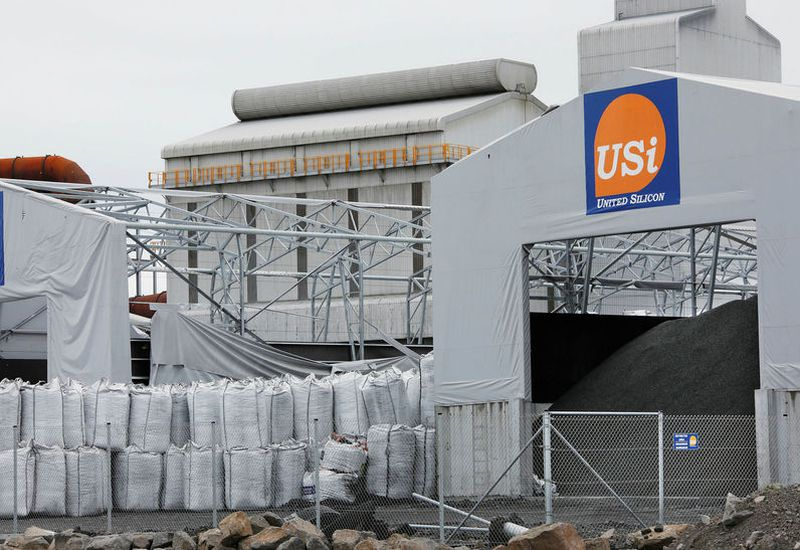 United Silicon in Helguvík on the Reykjanes peninsula has faced a lot of citicism for polluting the area.