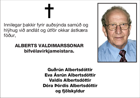Alberts Valdimarssonar
