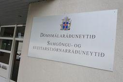 Blaðamannafundur verður haldinn í dómsmálaráðuneytinu í dag vegna skýrslunnar.