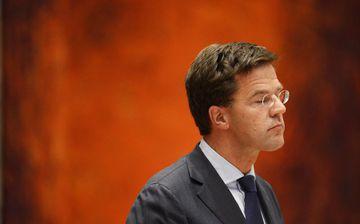 Mark Rutte, fráfarandi forsætisráðherra Hollands.