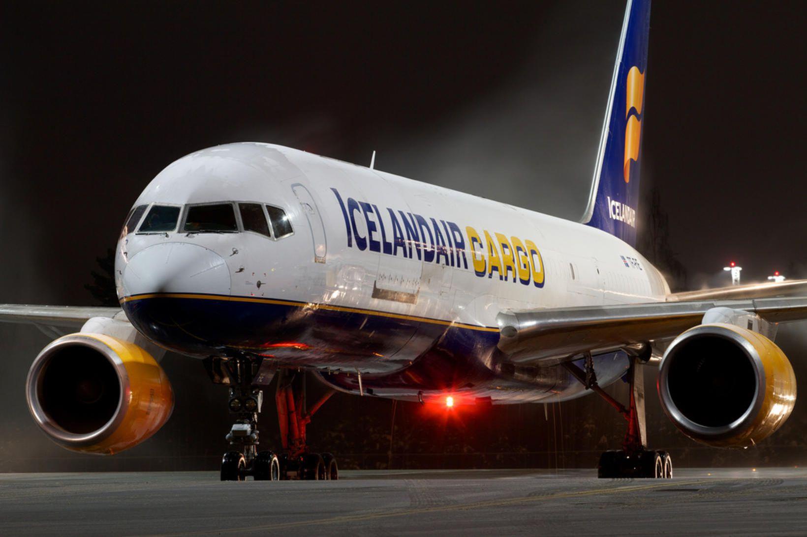 Icelandair Cargo mun annast alla flutninga fyrir FedEx og TNT …