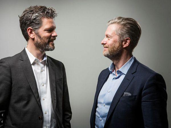 Dagur B.Eggertsson, current Mayor and Eyþór Arnalds, mayor candidate for the Indpendence Party.