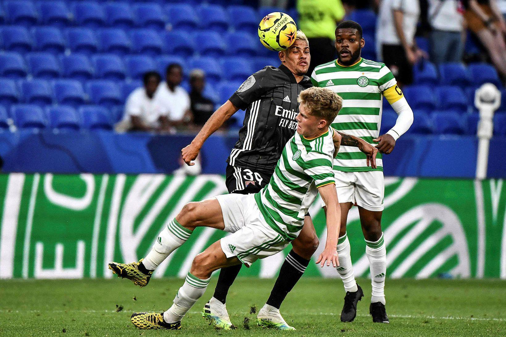 Frá vináttuleik Celtic og Lyon í sumar.